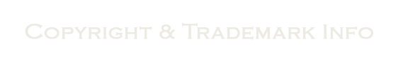 Copyright and Trademark Info